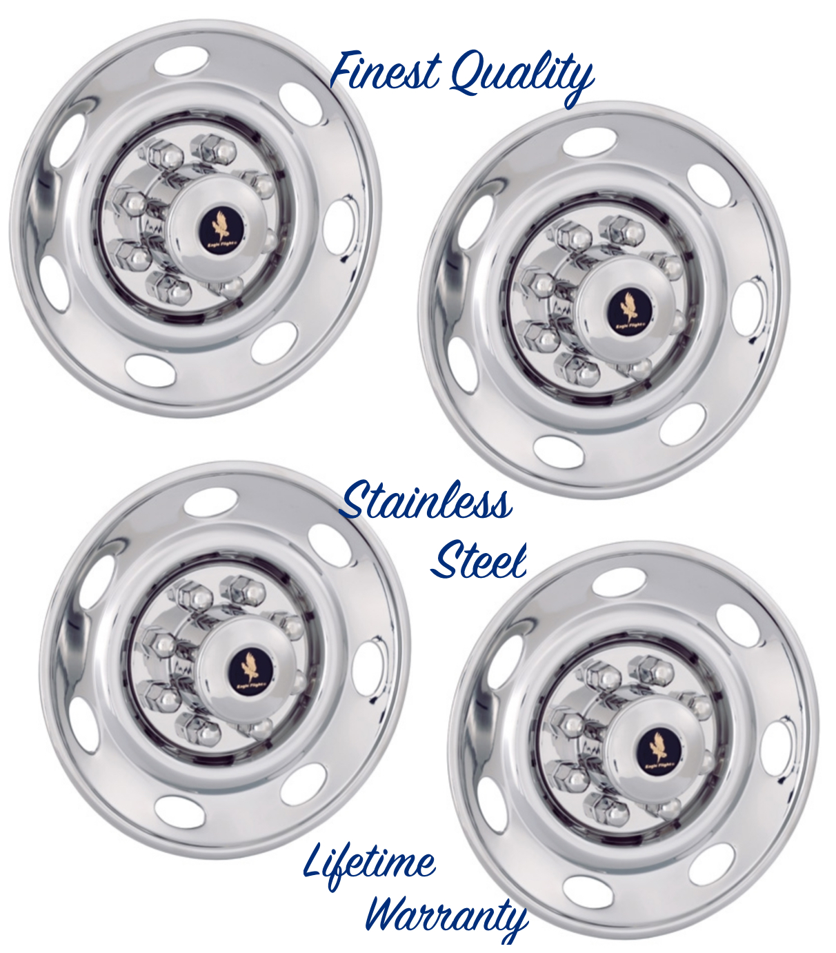 "16"" Ford E250 E350 F250 F350 Wheel Hubcap Covers For