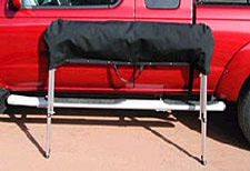 softopper pickup truck bed topper cover shown