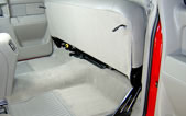 du-ha under the seat storage organizer and gun case for pickup trucks.