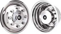 "wheel simulator wheel cover or hubcap 19.5"" for Accuride 28680"