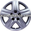 wheel covers silver