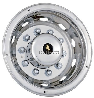 Stainless Steel Wheel Simulators 22 5 Inch Quot