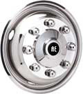 stainless steel wheel simulator wheel covers and