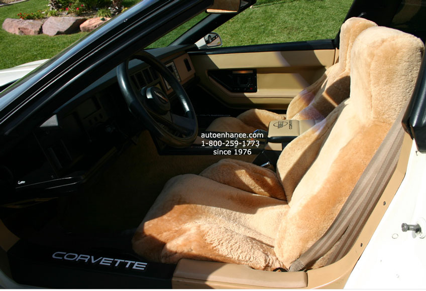 Genuine Australian Sheepskin Seat Covers Velcromag