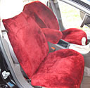 SHEEPSKIN SEAT COVERS CHEVY MALIBU 2009