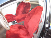 SHEEPSKIN SEAT COVER CHEVROLET MALIBU LT 2009