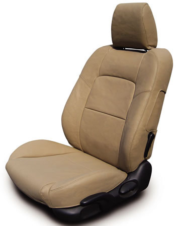 COVERKING Leather Seat Covers For Cars Trucks SUV Vans