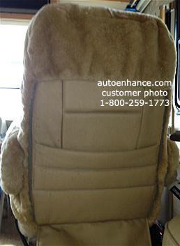 Rv Motorhome Sheepskin Seat Covers