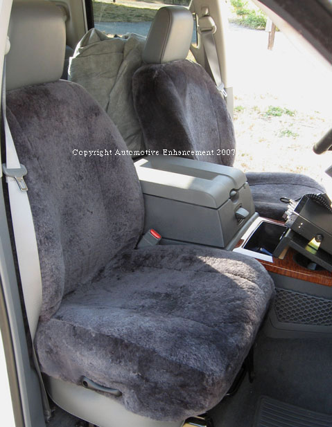 Sheepskin Seat Covers For Cars Trucks Minivans And SUVs