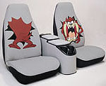 Seat Covers Taz Bugs Scooby Doo Tweety Sylvester