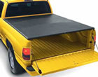 LeBra tonneau cover pickup truck bed cover top mount style allows pickup truck tailgate access